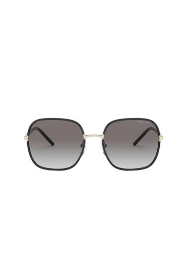 Prada Prada 0Pr 67Xs 58 Ekartman Black Kadın Güneş Gözlüğü Renksiz